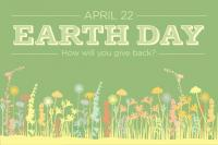 Earth Day in the Park with Bickerdike